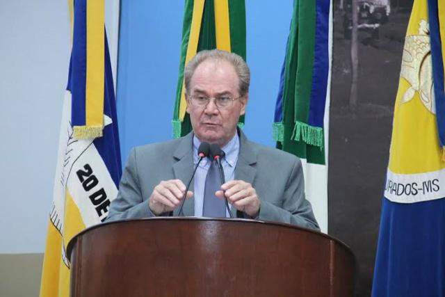 Vere. ador Idenor Machado. - Crédito: Foto: Divulgação