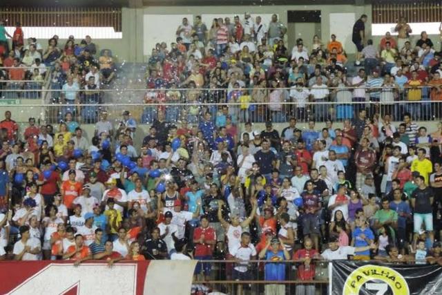 Com a empolgação dos torcedores, a diretoria do Sete espera por nova quebra de recorde de público. - Crédito: Foto: Divulgação