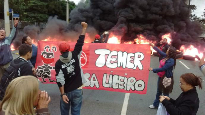 Movimento dos Trabalhadores Sem Teto - Crédito: MTST