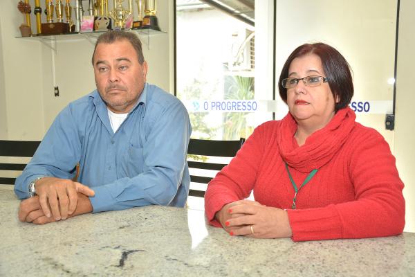 Feliciano paiva e Berenice acionam auditoria. Foto: Marcos Ribeiro -