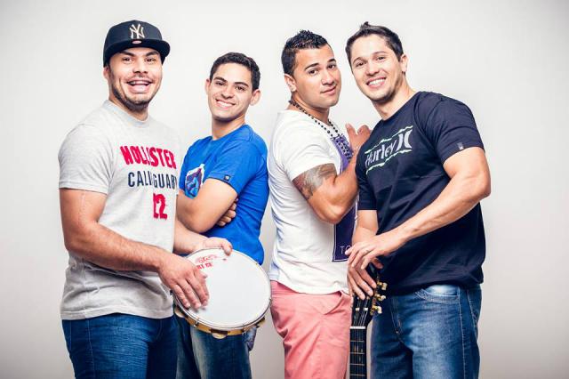 Grupo Som & Styllo  vem crescendo cada vez mais na cidade de Dourados e região com seu estilo diferente de tocar pagode. - Crédito: Foto: Divulgação