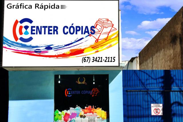 Center Cópias atende à Avenida Weimar Torres, 1818, centro. - Crédito: Foto: Hedio Fazan