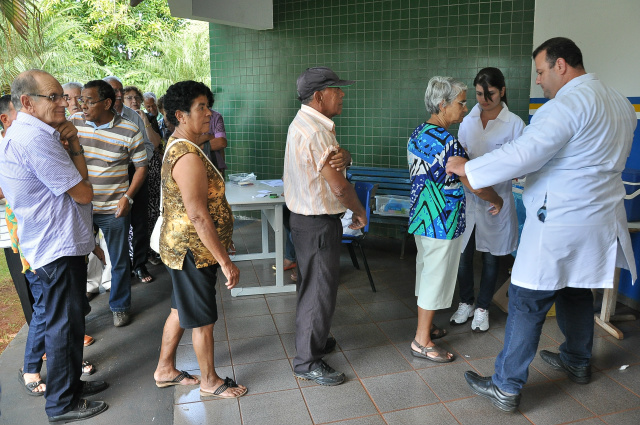 Vacinação contra a gripe começa neste sábado em Dourados. - Crédito: Foto: Assecom
