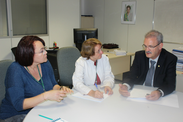 Geraldo expôs a crise de Oncologia do Hospital do Câncer. - Crédito: Foto: Divulgação