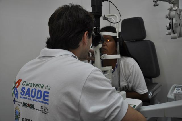 Caravana da Saúde atendeu 26 mil pessoas em Dourados e chegará a mais de 55 mil procedimentos médicos Foto: Hedio Fazan -