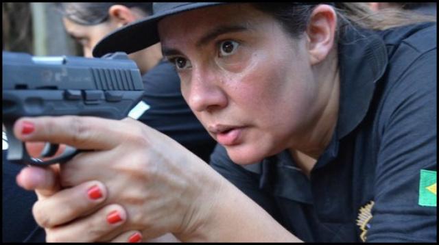 """Polícia Civil realiza """"1º Torneio de Tiro da Mãe Policial"""". - Crédito: Foto: Divulgação/PCMS"""