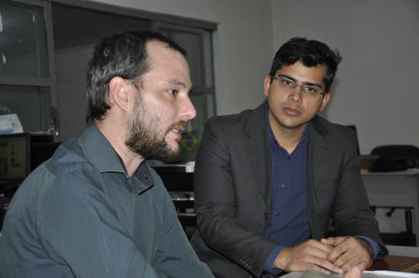 Presidente da Ana, Diego Zanone Fontes, tendo como vice-presidente José Roberto Teixeira Lopes    -