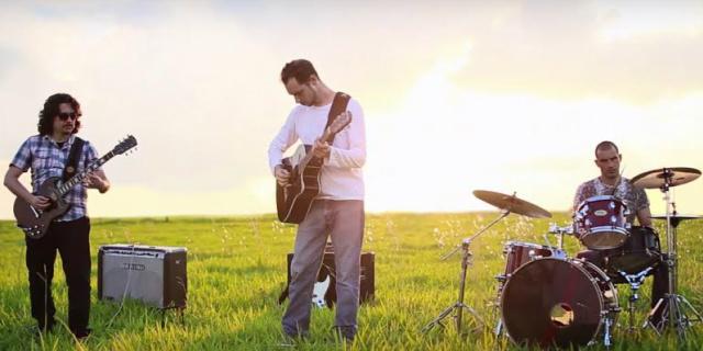 """Gravação do videoclipe da música """"Alzheimer"""", que integra o novo trabalho do grupo intitulado  """"O Nascimento dos Planetas"""" - Crédito: Foto: Cinematique Produções"""