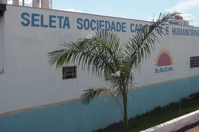 Sede da Seleta, que tinha 2.351 funcionários contratados por meio de convênios com o município de Campo Grande. - Crédito: Foto: Arquivo