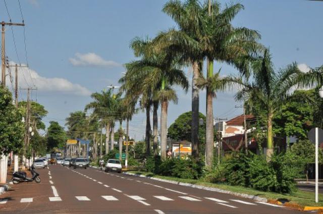 Marcelino Pires recebe carreata de conscientização sobre trânsito, fazendo parte das ações do Maio Amarelo. - Crédito: A. Frota/Assecom