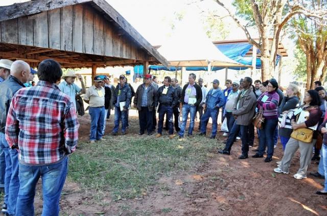 Foram oferecidas de oficinas, curso e mesas redondas sobre as ações da agricultura familiar. - Crédito: Foto: Divulgação