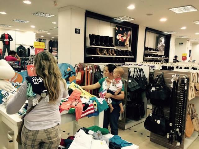 Confecções e calçados devem apresentar bons números nas vendas no Dia das Mães. - Crédito: Foto: Arquivo