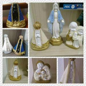 Customização de imagens sacras é opção para mães  -