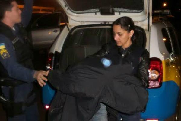 Garagista foi encaminhado por policiais até o 1º DP. -