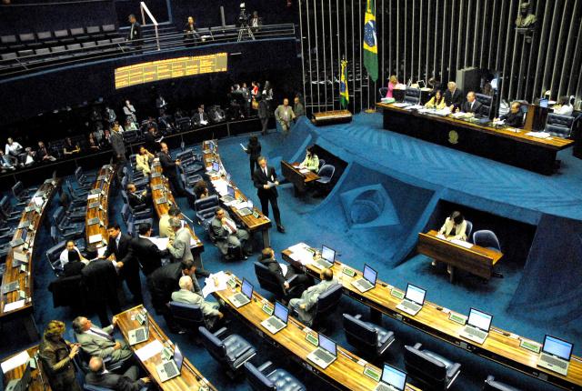 Senado inicia semana histórica com votação do impeachment de Dilma. - Crédito: Foto: Divulgação/Nina Santos