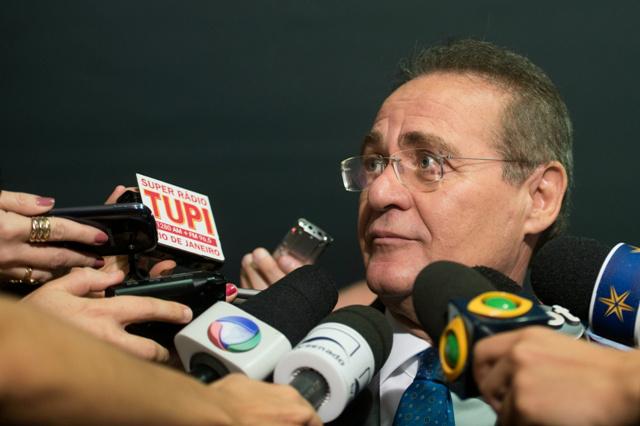 Renan decidiu ignorar a decisão do presidente em exercício da Câmara dos Deputados -