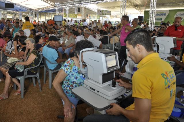 """Caravana da Saúde oferece consultas e cirurgias oftalmológicas até para quem não está na """"fila"""" - Crédito: Foto: Divulgação"""