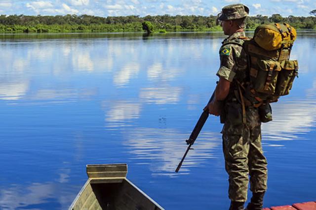 Exército fortalece vigilância na fronteira com ampliação do Programa Calha Norte. - Crédito: Foto: Agência FAB
