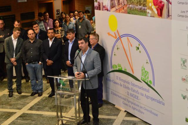 II Simpósio Internacional sobre Gases de Efeito Estufa na Agropecuária - Crédito: Foto: João Carlos Castro