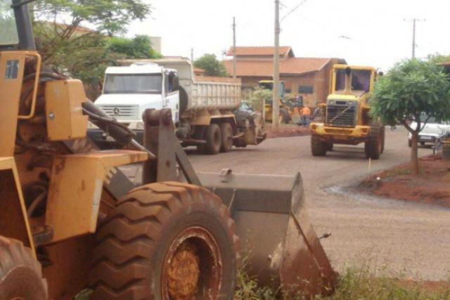 """São mais de 71 mil metros quadrados de asfalto no bairro Pró-Moradia XIV, o """"Morada do Sol"""" - Crédito: Foto: Assessoria"""
