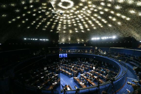 Senado vota hoje processo de impeachment de Dilma Rousseff Fabio Rodrigues Pozzebom/Agência Brasil -