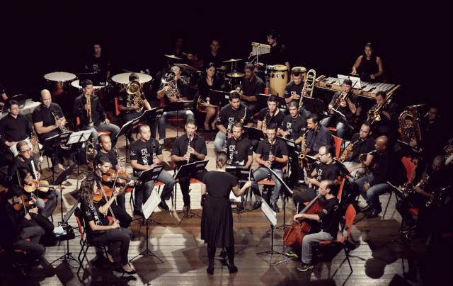 Orquestra UFGD é um projeto desenvolvido desde 2013 pela Coordenadoria de Cultura que proporciona o ensino e a prática musical. - Crédito: Foto: Divulgação