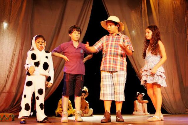 Este ano, o diferencial do curso de teatro para crianças é a encenação de espetáculos na Capital. - Crédito: Foto: Divulgação