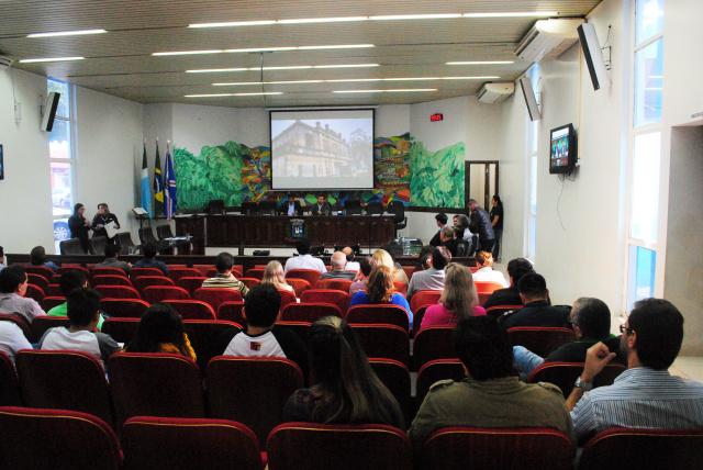 Audiência Pública coletou propostas para destino do castelinho de Ponta Porã. - Crédito: Foto: Divulgação