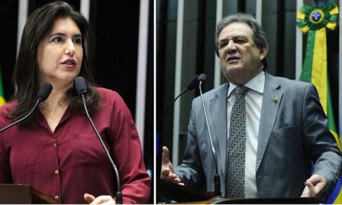 Senadores Moka e Simone Tebet se posicionam a favor do impeachment -
