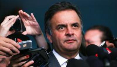 Senador Aécio Neves disse que a contribuição que o PSDB vier a dar a Temer é a de ajudá-lo a aprovar  as reformas trabalhista, tributária e do estado Marcelo Camargo/Agência Brasil -