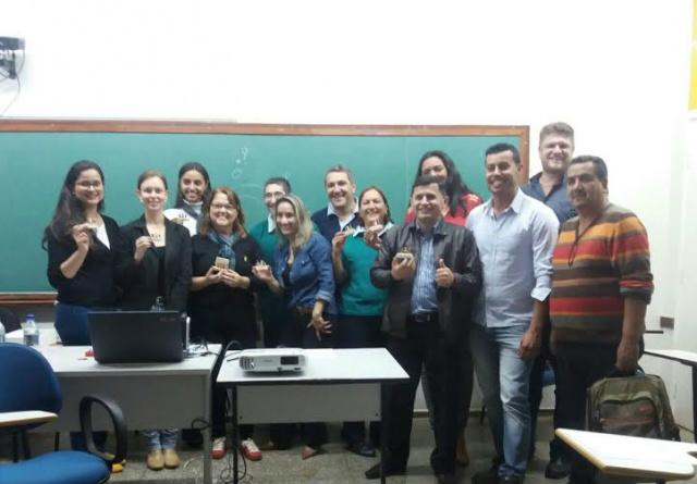 Alunos do PPGDRS da UEMS, campus Ponta Porã, acompanharam Seminário Economia Criativa. - Crédito: Foto: Divulgação