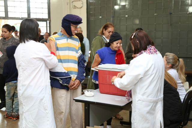 Prefeitura regulariza estoque de vacina contra gripe nos Postos de Saúde de Dourados. - Crédito: Foto: Divulgação
