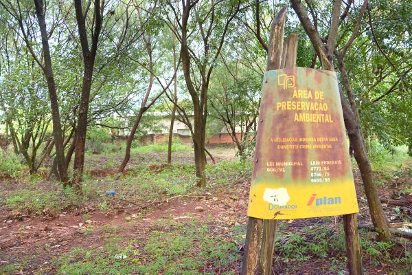 Casas ficam a poucos metros de área de córrego e área de preservação. Foto: Marcos Ribeiro -