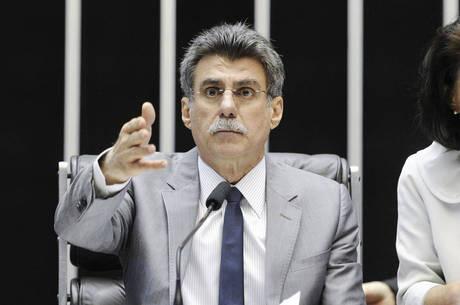 Jucá: contas no azul até 2018. - Crédito: Foto: Pedro França/11.jul.2013/Agência Senado/Divulgação