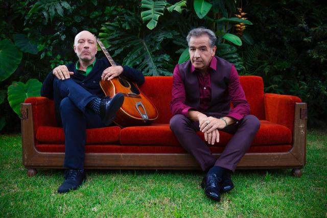 Paralelamente à turnê do Ira!, Nasi e Edgard Scandurra estreiam uma curta temporada de uma turnê especial. - Crédito: Foto: Divulgação