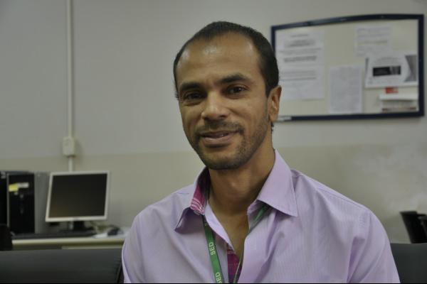 Alfredo Oliveira, técnico pedagógico de ensino da Secretaria Estadual de Educação -