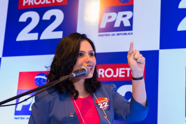 Deputada Grazielle Machado  diz que faz parte do  Projeto 22. - Crédito: Foto: Divulgação