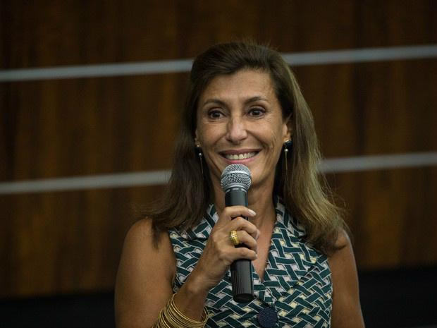 Maria Silvia Bastos Marques durante cerimônia no Rio de Janeiro em janeiro de 2014 - Crédito: Foto: G1/Divulgação