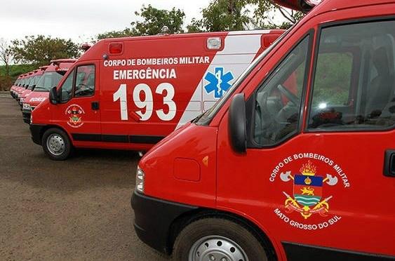 Corpo de Bombeiros tem investimento em R$ 3,7 mi. - Crédito: Foto: Arquivo Notícias MS/Divulgação