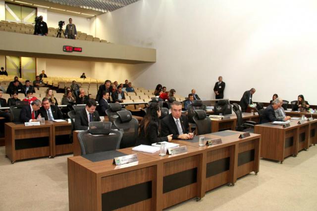 Foram aprovadas seis proposições na Ordem do Dia de hoje. - Crédito: Foto: Wagner Guimarães/Agência ALMS