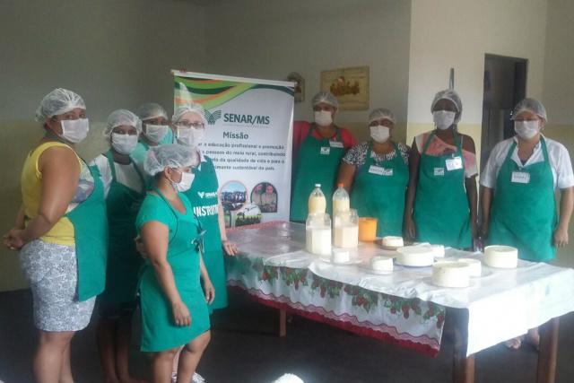 Objetivo da capacitação é estimular o setor leiteiro e criar novas oportunidades de renda. - Crédito: Foto: Divulgação
