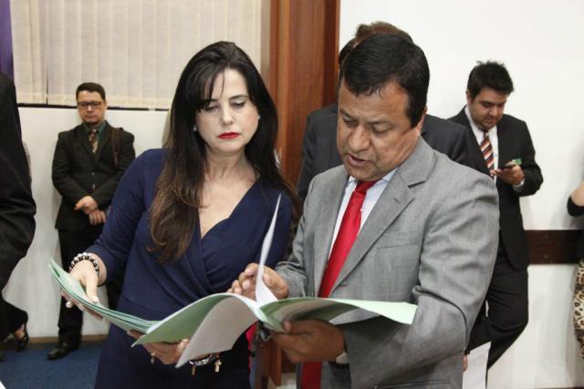 A deputada Mara Caseiro é presidente da Comissão de Saúde, tendo como vice-presidente Amarildo Cruz. - Crédito: Foto: Roberto Higa/ALMS