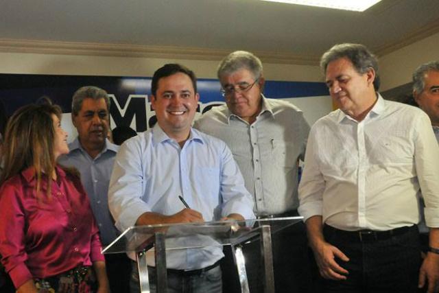 PMDB anuncia pré-candidatura do deputado estadual Márcio Fernandes à prefeitura da Capital. - Crédito: Foto: Divulgação