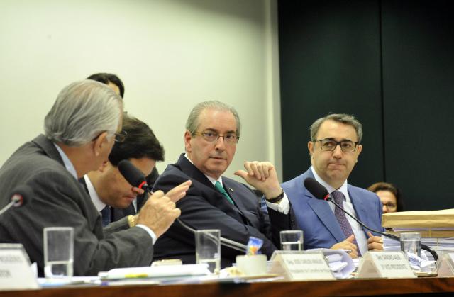 Presidente afastado da Câmara, Eduardo Cunha, faz sua defesa no Conselho de Ética da Casa. - Crédito: Foto:  Luis Macedo/Câmara dos Deputados