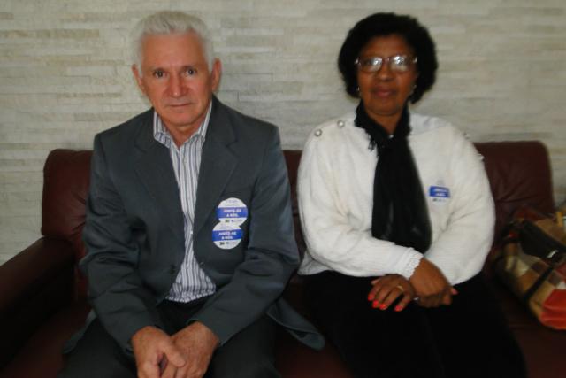 Representante Cofen, Diogo Casal e a conselheira Luzia Brianezi. - Crédito: Foto: Divulgação