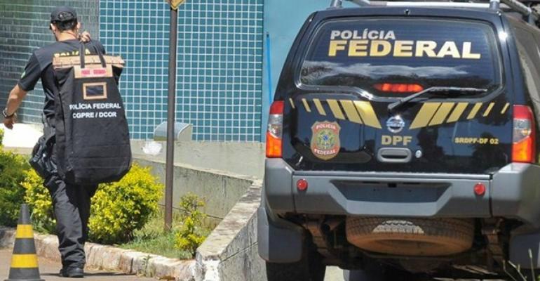 A Justiça Federal expediu quatro mandados de busca e apreensão e dois de condução coercitiva -