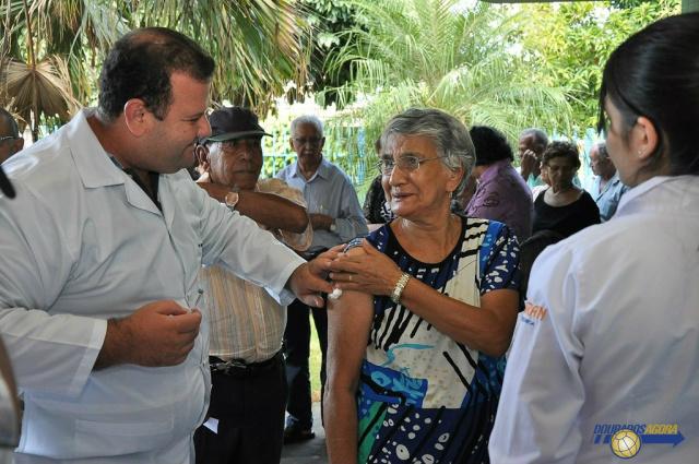 Mato Grosso do Sul vacinação atingiu 70,7% do grupo prioritário. - Crédito: Foto: Divulgação