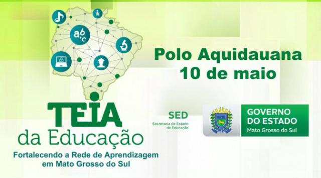Com cinco encontros programados, Teia da Educação chega a Campo Grande nesta segunda. - Crédito: Foto: Divulgação