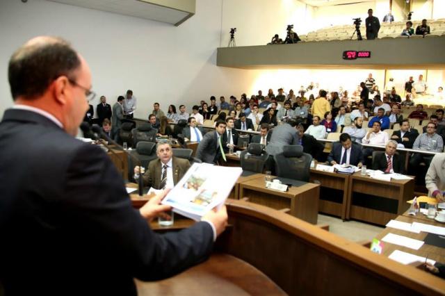 Capacitação do Legislativo de MS começa segunda-feira na Assembleia. - Crédito: Foto: Wagner Guimarães/Agência ALMS