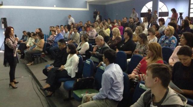 Secretaria de Educação realiza 14º encontro da Teia da Educação. - Crédito: Foto: Divulgação